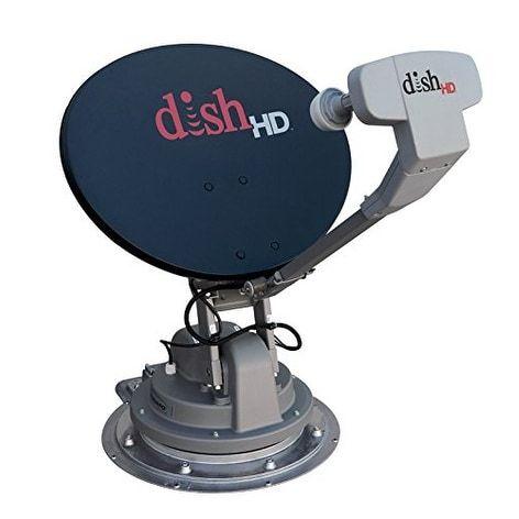 Winegard Sk-1000 Trav'Ler Gray/Black Dish Multi-Satellite Tv
