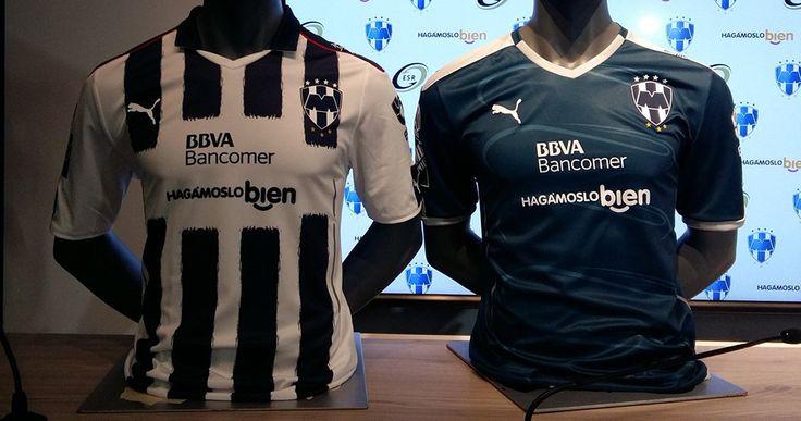 Camisas do Rayados de Monterrey 2016-2017 Puma