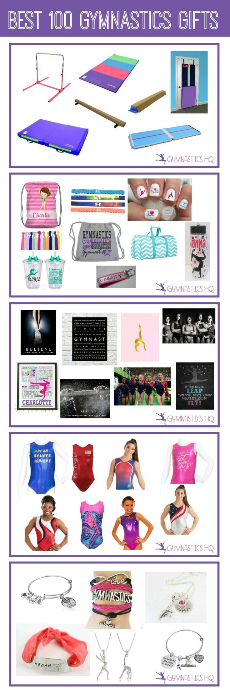 Gymnastics Gift Guide: Best 100 Gymnastics Gifts                                                                                                                                                                                 More