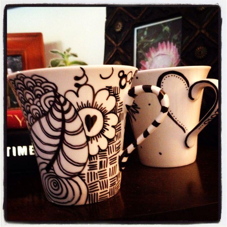 My sharpie mugs