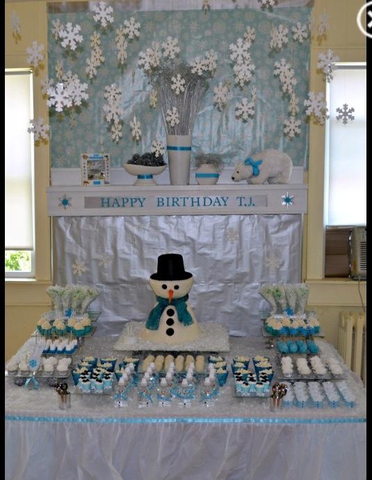 72 best Winter Wonderland 30th Birthday Party images on Pinterest