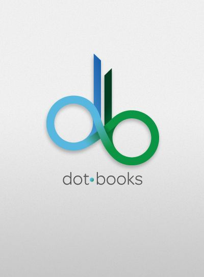 dotbooks logo design curated by rapid printing kelowna 129 1889 - Logo Designs Ideas