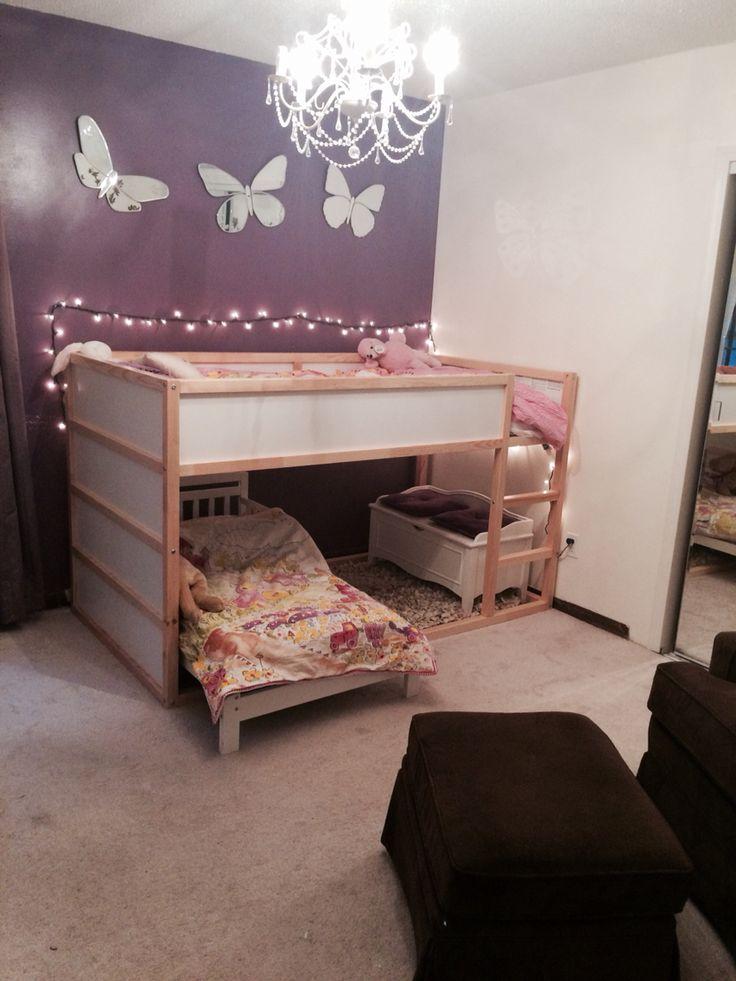 25 best girl nurseries images on pinterest child room for Kura bed decoration