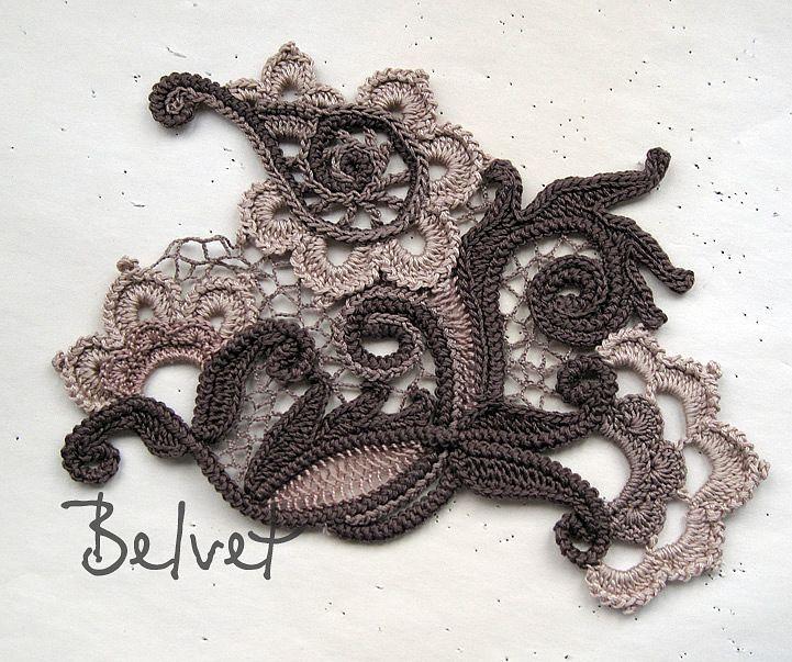 crochet motif irish