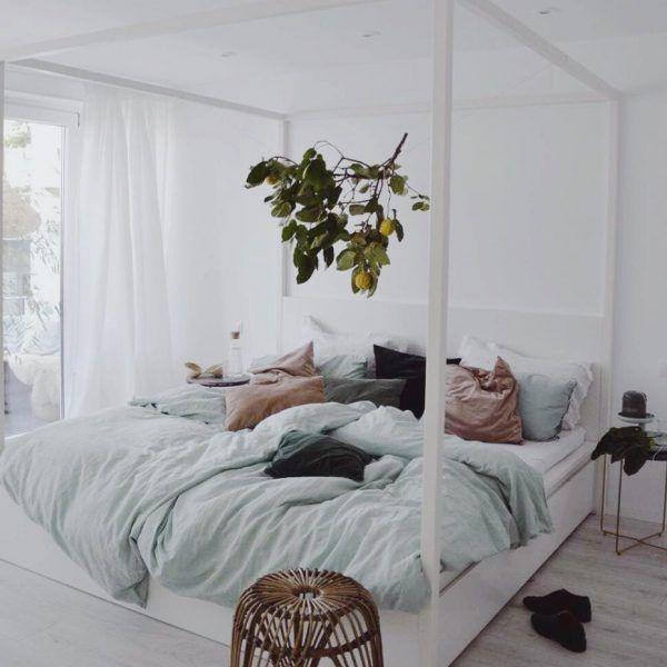 Tipps Schlafzimmer Bettwaesche. wassergrüne bettwäsche bettwaesche ...