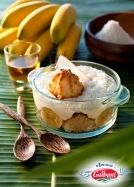 Recette du Tiramisu banane et rhum brun