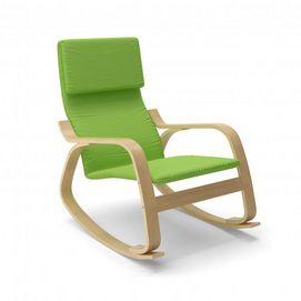 140$ au Sears en ligne - CorLiving(MC) - LAQ-635-C Chaise berçante moderne Aquios Bentwood - Vert pomme - Sears