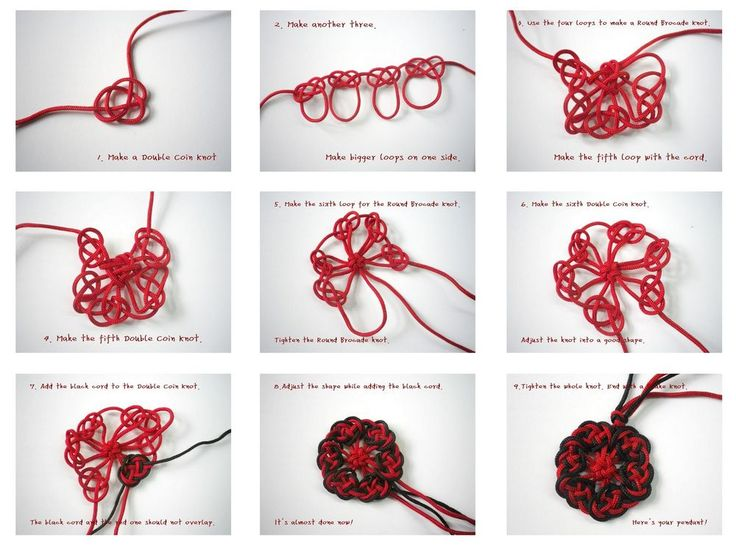 Chinese Knotting Tutorial-Harmony brings wealth