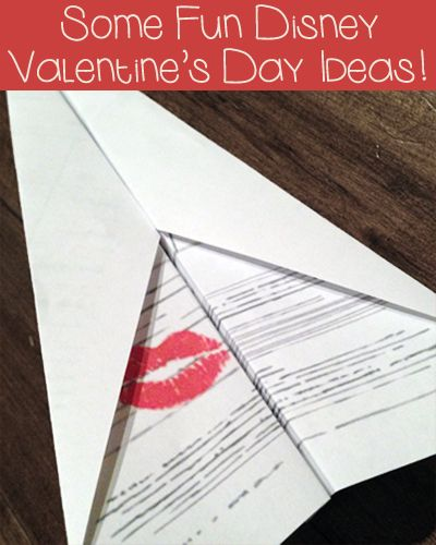 Some Fun Disney Valentine's Day Ideas! Thanks to @Spoonful for so many fabulous printables!