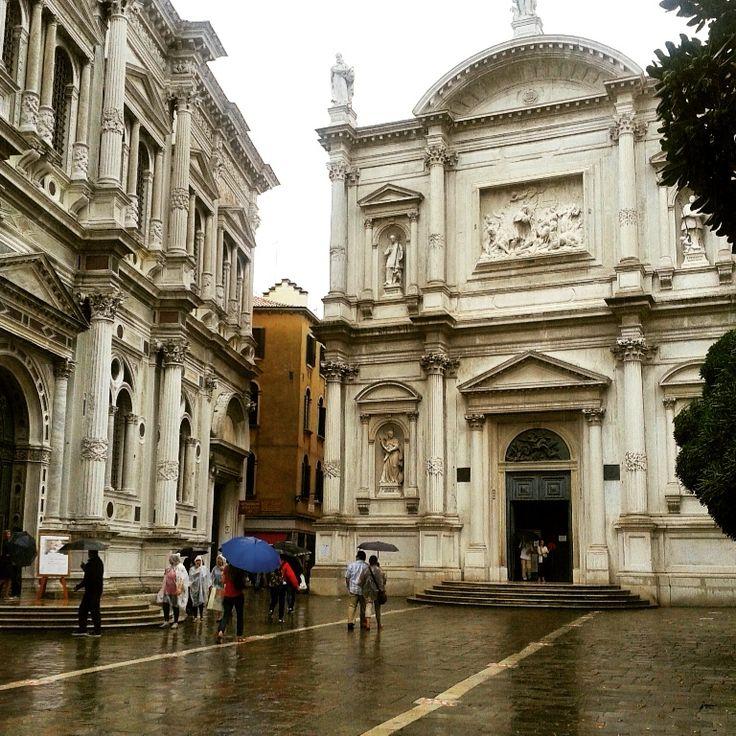 Venezia bagnata dalla pioggia !