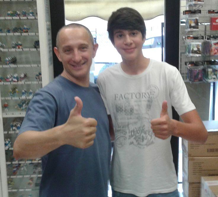 30 Agosto 2016: Boss con Alessandro da Belluno