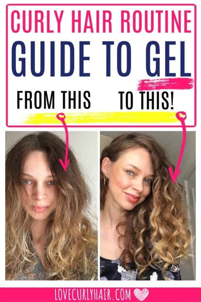Should You Be Using Curly Hair Gel To Style Your Hair What About That Crispy Feeling Find Out How To Style Curly Ha In 2020 Gel Curly Hair Curly Hair Styles