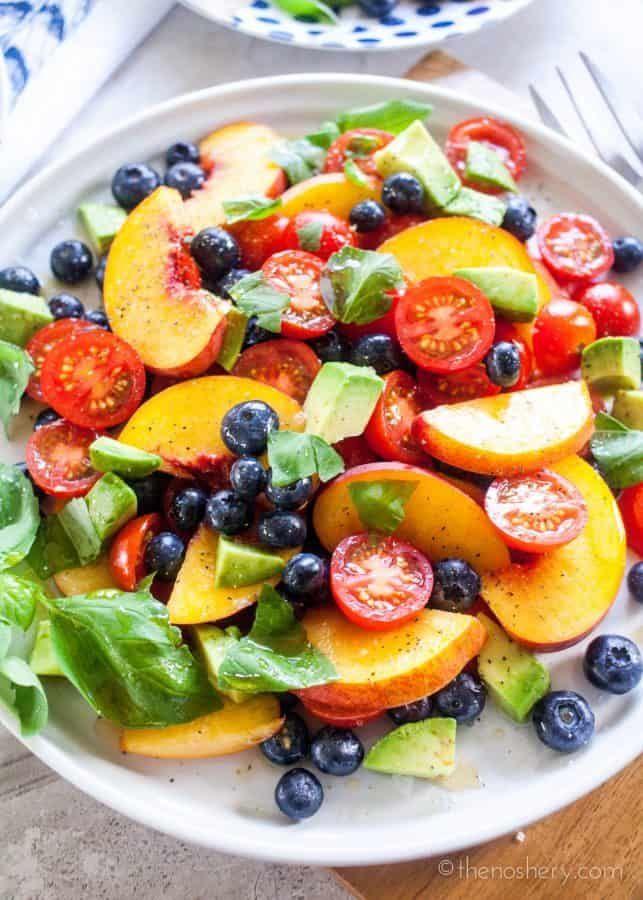 Summer Fruit Dinner Salad Recipe Fruit Dinner Dinner Salads Dinner
