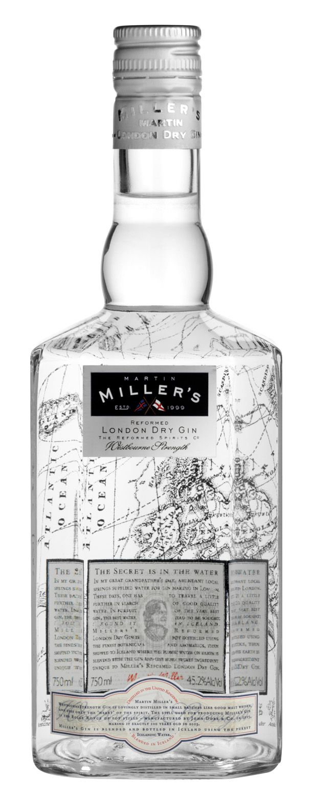 Martin Miller's Westbourne Strength London Dry Gin - 45.2% London, England www.martinmillersgin.com
