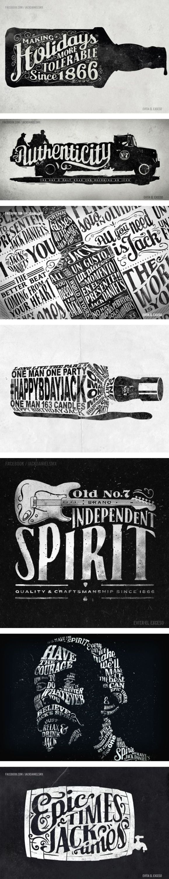 22 Inspirational Examples of Vintage Typography - B/I/D