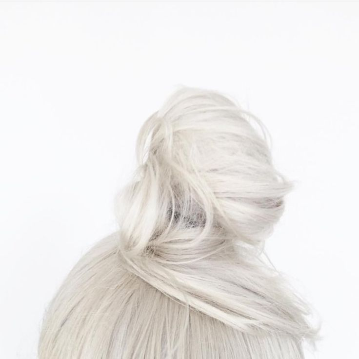 Platinum blonde bun love. Absorb oil and add volume to your bun with KEEP YOU, our truly invisible dry shampoo.