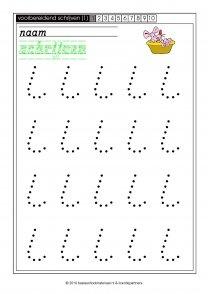 schrijven 1-01, basisschoolmateriaal, startpagina
