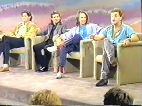 "The Monkees & Danny Bonaduce on ""People Are Talking"" U.S. TV 8/89 WBZ-TV..."