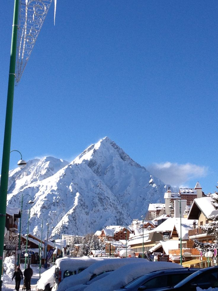 Les Deux Alpes,france
