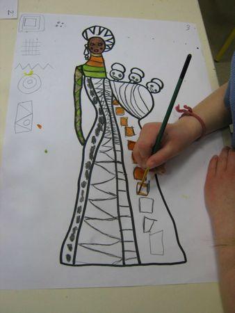 Le Tour de ma classe / Graphisme et arts V