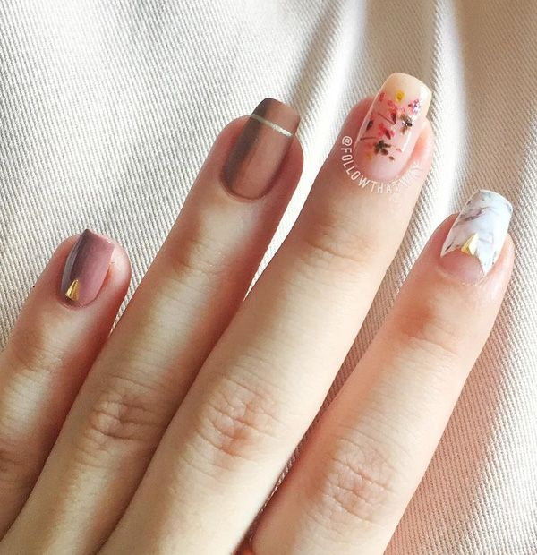 45 Chic Cly Nail Designs