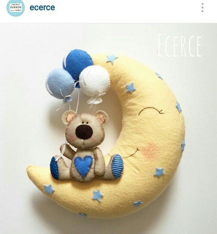 Ecerce | Teddy Bear On Moon
