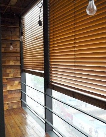 Timber Venetians suit any home.