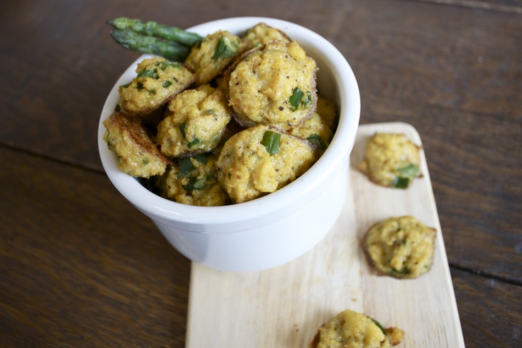 asparagus polenta poppers | Party finger foods and dips | Pinterest