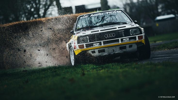 Classic Group B Rallying and More at Race Retro #audi #quattro