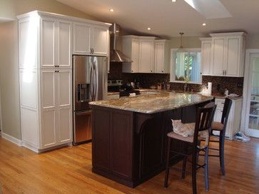302 best images about raised ranch designs on pinterest for Split foyer kitchen ideas