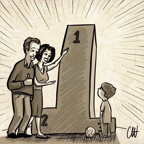 Guía para padres: El que mucho demanda poco ayuda
