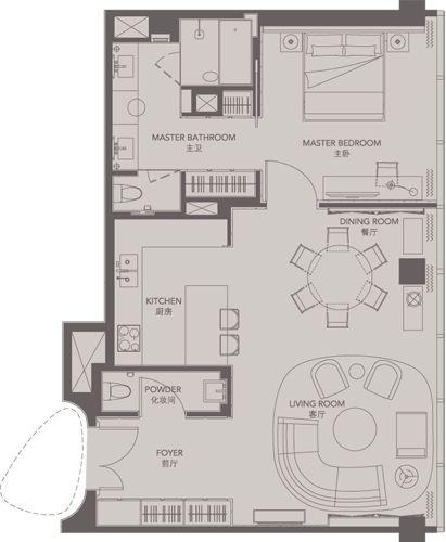 14 best Service Apartment images – Four Seasons Housing Floor Plans