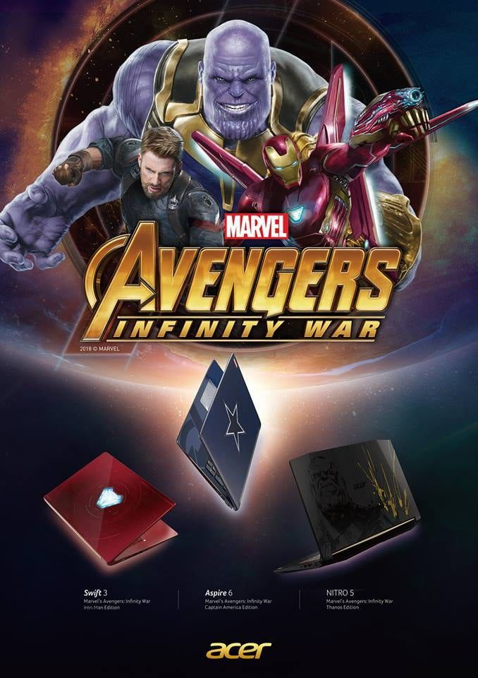 avengers infinity war cinematic universe edition