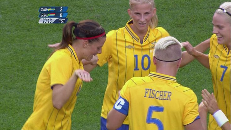 Sweden 4-1 South Africa - Women's Football Group F | London 2012 Olympics