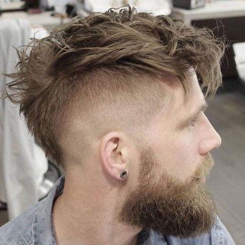 Mohawk Fade Haarschnitt Herrenfrisuren Haarschnitt Manner