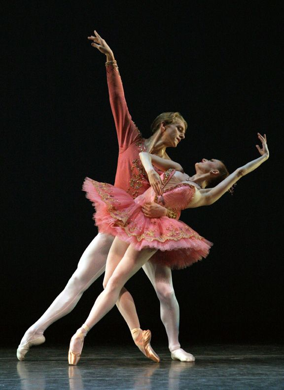 ABT's Gillian Murphy and David Hallberg in 'Theme and Variations'. Photo: Rosalie OConnor.