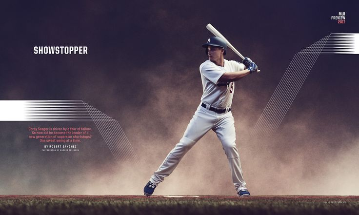 ESPN The Magazine / MLB Preview Photograph by Marcus Eriksson http://themarcus.com/
