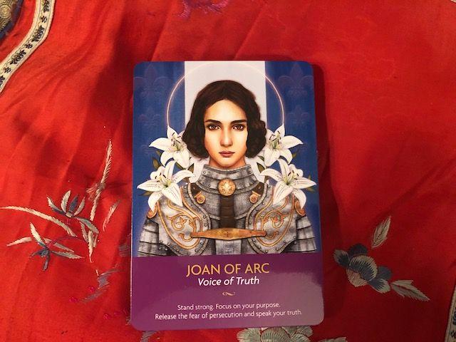 Joan Of Arc Joan Of Arc Tarot Daily Tarot