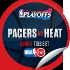 Indiana Pacers vs. Miami Heat #5