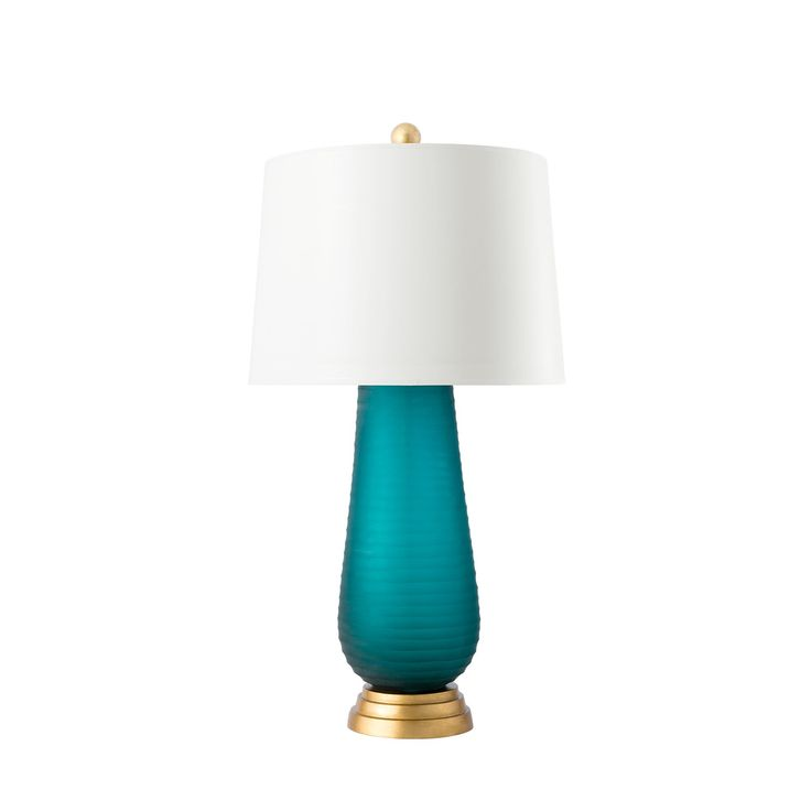 Zelina Lamp (Lamp Only), Turquoise - Bungalow 5
