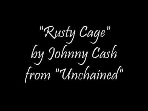 Johnny Cash - Rusty Cage cover
