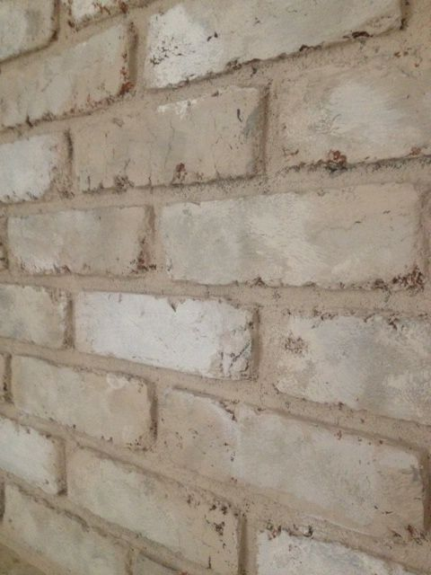 Thrift Diving: How to Paint an Old Brick Fireplace