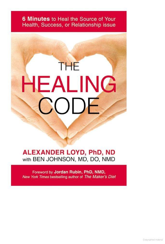 The Healing Codes :: The Healing Codes