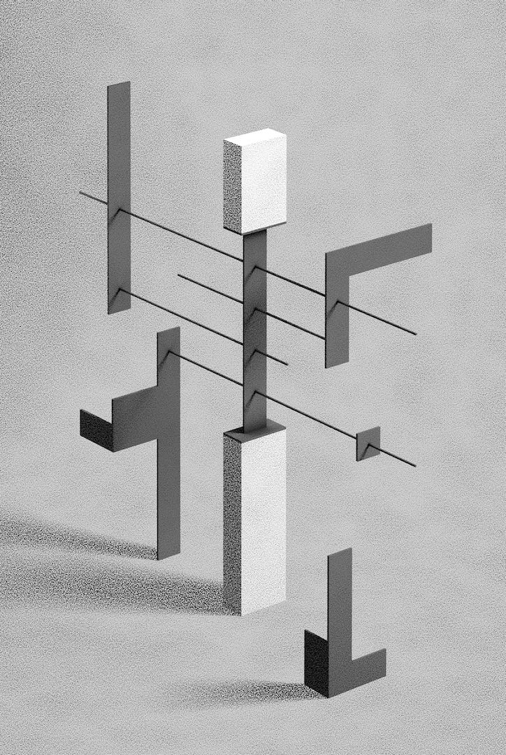 It's Nice That | Sculptor turned illustrator Fabrice Le Nezet has produced a series of architectural illustrations