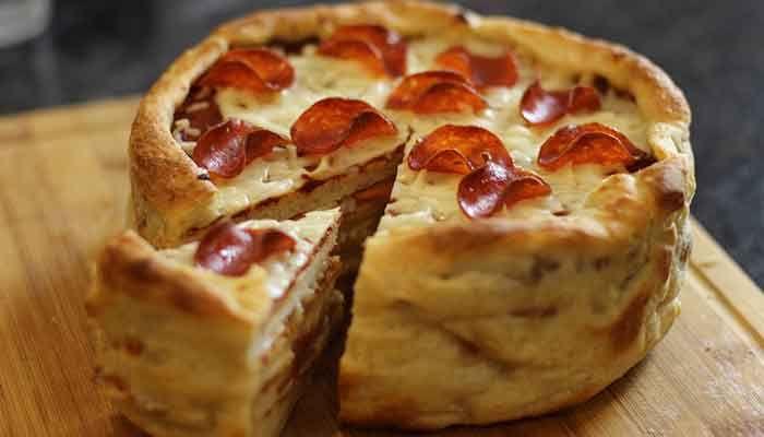Пицца-торт