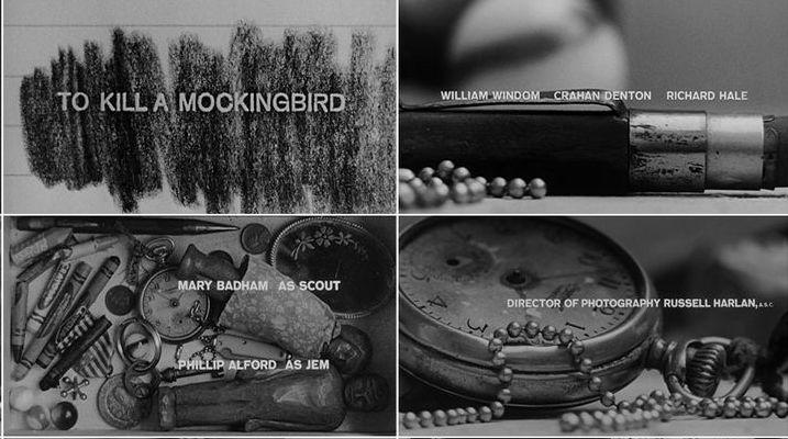 To Kill a Mockingbird opening titles  Stephen Frankfurt