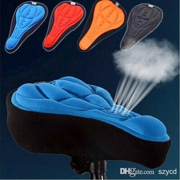 Cycling MTB Bicycle Bike Silicone Saddle Seat Cover Silica Gel Cushion Soft Pad