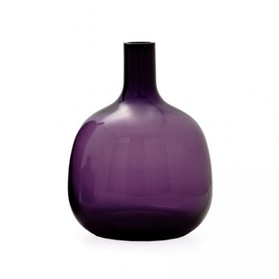 Bolo Glass Vase Collection by Torre and Tagus - Use code PINBOLO to receive 10% off the 3 piece set of the BOLO Vase Collection in purple.  Ships Free!  Coupon valid until 11:59pm May 25th, 2013