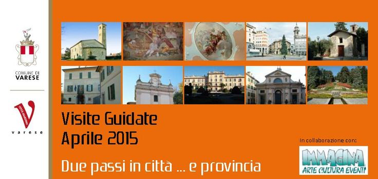 From Sunday, April 19, 2015 to Sunday, June 20, 2015, guided #tours and free in #Varese and in the province.