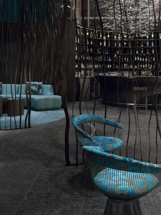 W Hotel Atlanta.Canadian interior design team Burdifilek